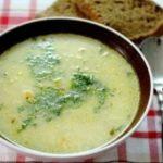 Огуречный суп с грибами