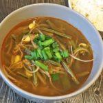 Корейский острый суп с говядиной Юккедян (Юккеджан)