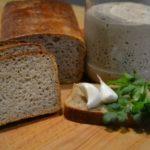 Ржаной хлеб на готовой закваске в хлебопечке