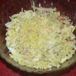 Салат с молодой капустой