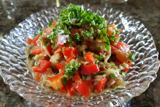 Пикантные баклажаны со сладким перцем по-провансальски, рецепт с фото и видео