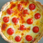 Пирог Киш Лорен с томатами и моцареллой, рецепт с фото и видео