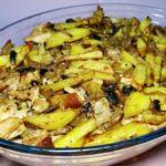 Картошка с мясом и грибами Скоблянка по-старорусски, рецепт с фото и видео