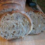Хлеб на кефире с отрубями в духовке, рецепт с фото и видео
