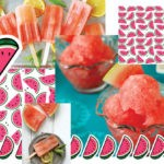Арбузный фруктовый лед