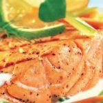 Филе лосося в сливочном соусе с тмином, рецепт с фото