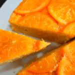 Ароматный апельсиновый пирог. Сладкая выпечка к чаю