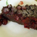 Шоколадная шарлотка с вишней в духовке, рецепт с фото и видео