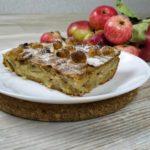 Яблочный пирог с орехами и корицей, рецепт с фото и видео