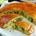 Шарлотка с капустой и зеленью на кефире, рецепт с фото и видео