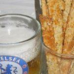 Простые овсяные палочки с сыром, рецепт с фото