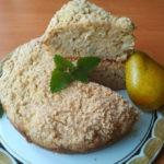 Грушевый пирог на кефире с пряными специями, рецепт с фото пошагово и видео