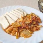 Острая жареная свинина Тофу Кимчи по-корейски, рецепт с фото и видео