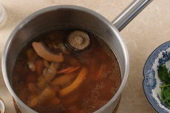 Японский буйабес на бульоне мисо, рецепт с фото