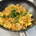 Жареный рис с овощами и беконом по-азиатски, рецепт с фото и видео