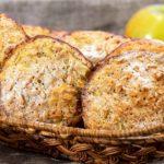 Овсяное печенье с яблоком по-домашнему