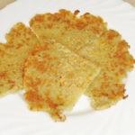 Картофельный блин на сковороде без яиц и муки, рецепт с фото и видео