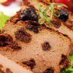 Сливочный паштет из говяжьей печени с черносливом, рецепт с фото
