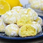 30 минут и готово! Мраморное лимонное печенье с трещинками