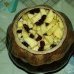 Рисовая каша с тыквой, яблоком и медом, рецепт с фото и видео
