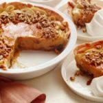 Пирог на сметане с тыквенно-яблочной начинкой, рецепт с фото и видео