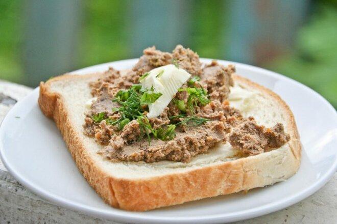 Паштет из говяжьей печени со сливками в мультиварке, рецепт с фото и видео