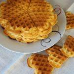 Вафли к завтраку в электровафельнице, рецепт с фото
