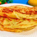 Ленивые хачапури (лепешки) из 3 ингредиентов без раскатки теста