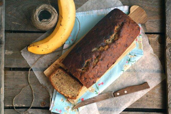 Банановый хлеб с корицей в духовке, рецепт с фото