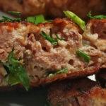 Рубленые котлеты из куриной печени с зеленью, рецепт с фото и видео