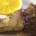 Свинина с апельсинами в духовке, рецепт с фото и видео
