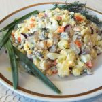 Салат из селедки с картофелем, яйцами и луком, рецепт с фото и видео