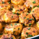 Куриные ежики с карри в сметанном соусе, рецепт с фото и видео