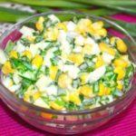 Салат из редьки с капустой и кукурузой, рецепт с фото