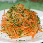 Салат из редьки с овощами по-корейски, рецепт с фото и видео