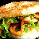 Рисовый бургер с кальмарами и соусом терияки, рецепт с фото пошагово
